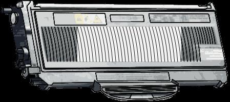 Toner Brother TN-2120 pro laserové tiskárny Brother. Barva:černá