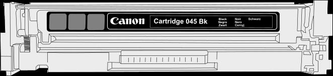 Toner Canon 045bk pro laserové tiskárny Canon. Barva:černá.