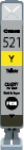 Cartridge Canon 521Y (CLI- 521Y) pro inkoustové tiskárny Canon. Barva:žlutá.