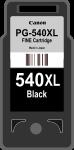 Cartridge Canon 540XL (PG-540XL) pro inkoustové tiskárny Canon. Barva:černá.