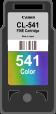 Cartridge Canon 541 (CL-541) pro inkoustové tiskárny Canon. Barva:cmy.