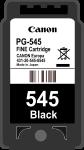 Cartridge Canon 545 (PG-545) pro inkoustové tiskárny Canon. Barva:černá.