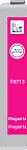 Cartridge Epson T0713 (713) pro inkoustové tiskárny Epson. Barva:purpurová.