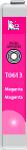 Cartridge Epson T01293 (1293) pro inkoustové tiskárny Epson. Barva:purpurová.