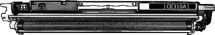 Toner HP 126A (CE310A) pro laserové tiskárny HP. Barva:černá.