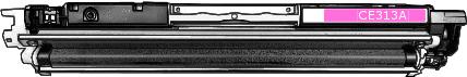 Toner HP 126A (CE313A) pro laserové tiskárny HP. Barva:purpurová.