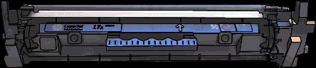 Toner HP 17A (CF217A) pro laserové tiskárny HP. Barva:černá.