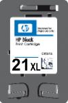 Cartridge HP 21XL (C9351CE) pro inkoustové tiskárny HP. Barva:černá.