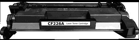 Toner HP 26A (CF226A) pro laserové tiskárny HP. Barva:černá.
