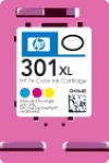 Cartridge HP 301XL (CH564EE) pro inkoustové tiskárny HP. Barva:cmy