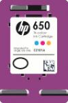 Cartridge HP 650 (CZ102AE) pro inkoustové tiskárny HP. Barva:cmy.