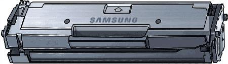 Toner Samsung MLT-D101S (101S) pro laserové tiskárny Samsung. Barva:černá.