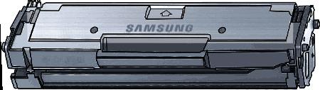 Toner Samsung MLT-D111S (111S) pro laserové tiskárny Samsung. Barva:černá.