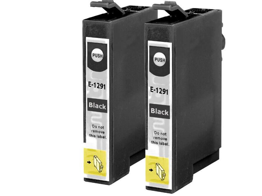 Epson T1291 dvojbalení kompatibilní inkoustová cartridge  pro inkoustové tiskárny Epson
