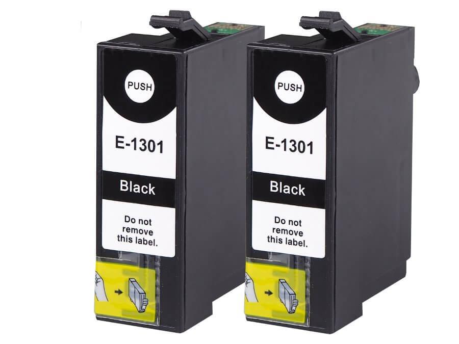 Epson T1301 - dvojbalení kompatibilní inkoustová cartridge pro inkoustové tiskárny Epson