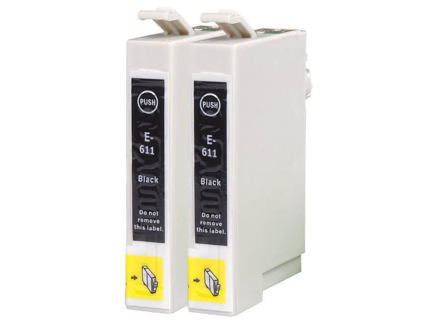 Epson T0611 - dvojbalení kompatibilní inkoustová cartridge pro inkoustové tiskárny Epson