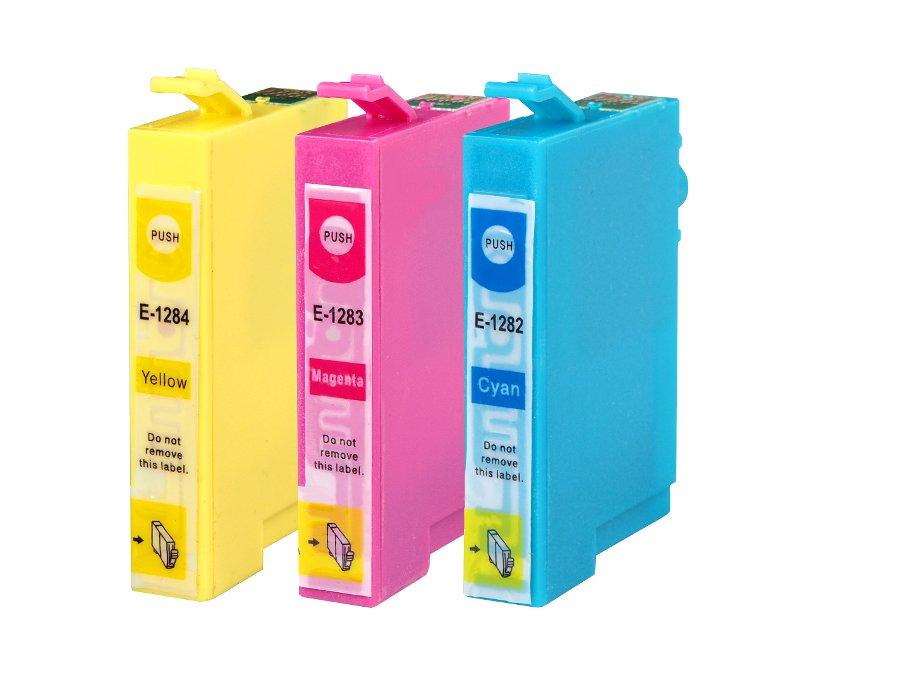 Epson T1282, T1283, T1284 kompatibilní inkoustová cartridge pro inkoustové tiskárny Epson