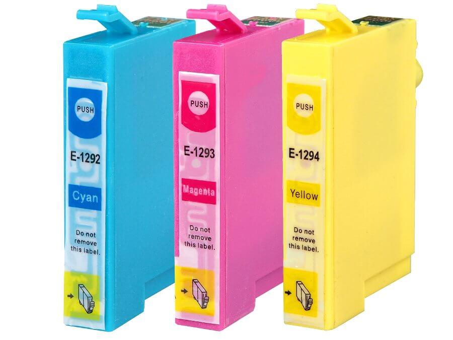 Epson T1292,T1293,T1294 kompatibilní inkoustová cartridge  pro inkoustové tiskárny Epson