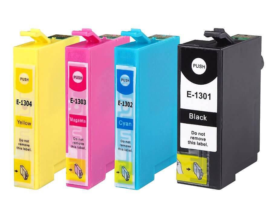 Epson T1301,T302,T303,T1304 kompatibilní inkoustové cartridge   pro inkoustové tiskárny Epson