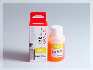 Samostatný žlutý inkoust pro doplnění originální cartridge Canon 511, CL-511