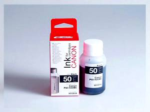 Samostatný černý inkoust pro doplnění originální cartridge Canon 520, PGI-520PGBK
