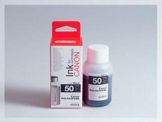 Samostatný černý inkoust pro doplnění originální cartridge Canon 525, PGI-525PGBK