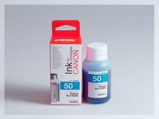 Samostatný azurový inkoust pro doplnění originální cartridge Canon 526, CLI-526C