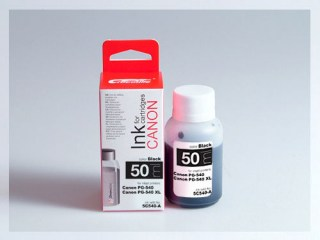 Samostatný černý inkoust pro doplnění originální cartridge Canon 540, PG-540
