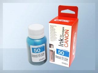 Samostatný azurový inkoust pro doplnění originální cartridge Canon 546, PG-546
