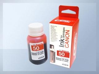 Samostatný purpurový inkoust pro doplnění originální cartridge Canon 546, PG-546