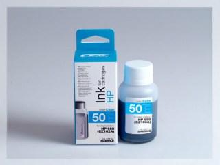 Samostatný azurový inkoust pro doplnění originální cartridge HP 650, CZ102AE