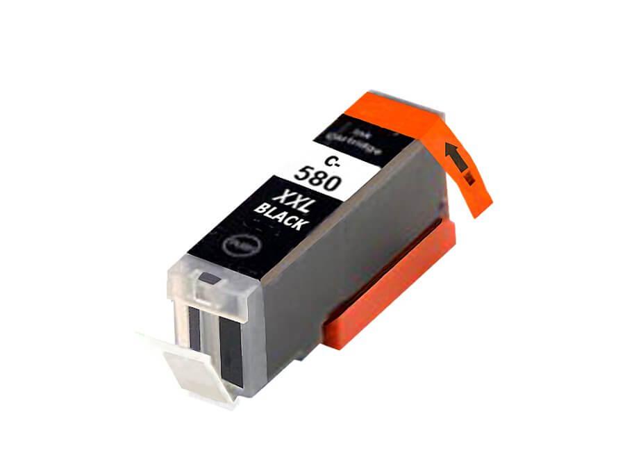 Canon PGI-580Bk. Kompatibilní inkoustová cartridge  pro inkoustové tiskárny Canon