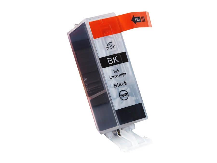 Kompatibilní inkoustová cartridge Canon BCI-3eBk pro inkoustové tiskárny Canon