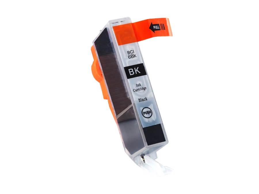 Kompatibilní inkoustová cartridge Canon BCI-6Bk pro inkoustové tiskárny Canon