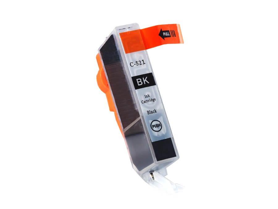 Kompatibilní inkoustová cartridge Canon CLI-521Bk pro inkoustové tiskárny Canon