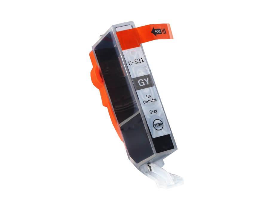 Kompatibilní inkoustová cartridge Canon CLI-521GY pro inkoustové tiskárny Canon