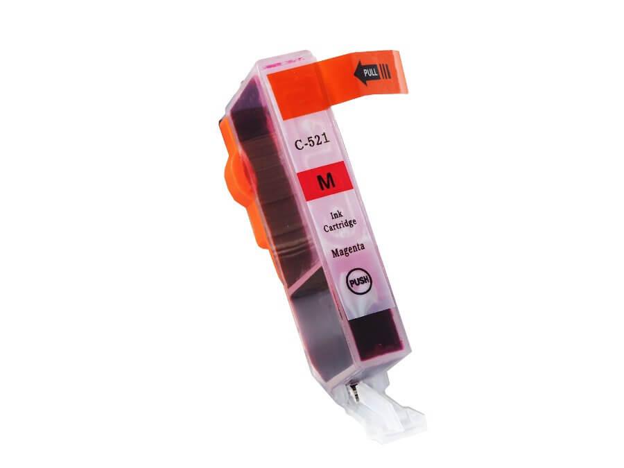 Kompatibilní inkoustová cartridge Canon CLI-521M pro inkoustové tiskárny Canon
