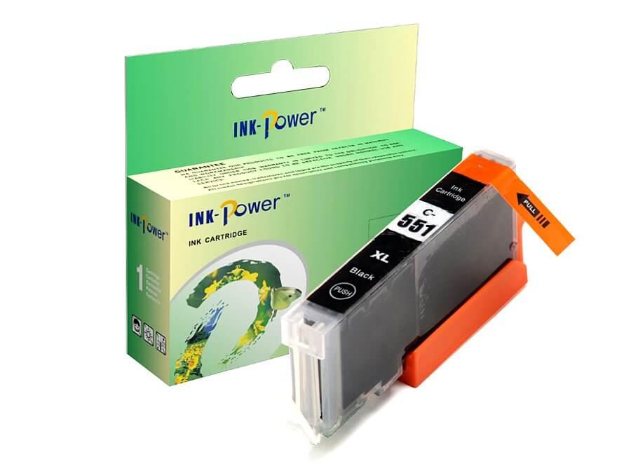 Kompatibilní inkoustová cartridge Canon CLI-551Bk XL pro inkoustové tiskárny Canon