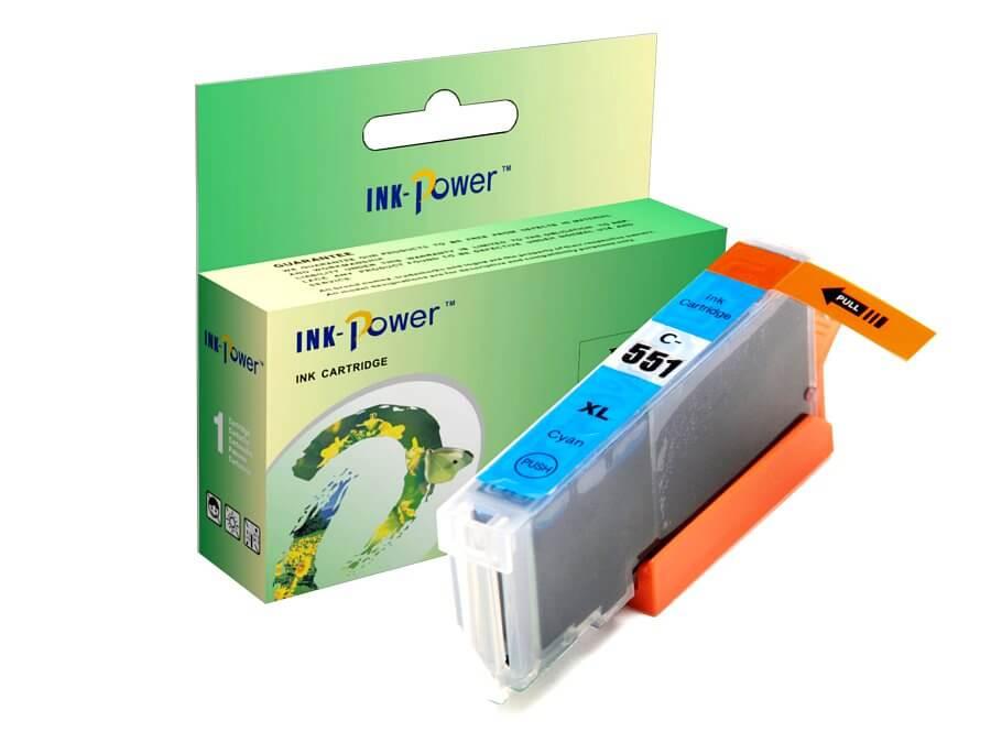 Kompatibilní inkoustová cartridge Canon CLI-551C XL pro inkoustové tiskárny Canon