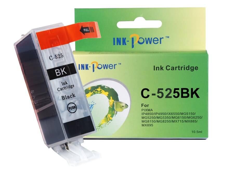 Kompatibilní inkoustová cartridge Canon PGI-525PGBk pro inkoustové tiskárny Canon