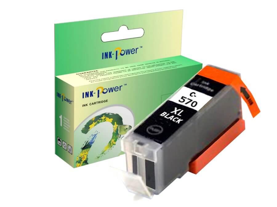 Kompatibilní inkoustová cartridge Canon PGI-570PGBk XL pro inkoustové tiskárny Canon