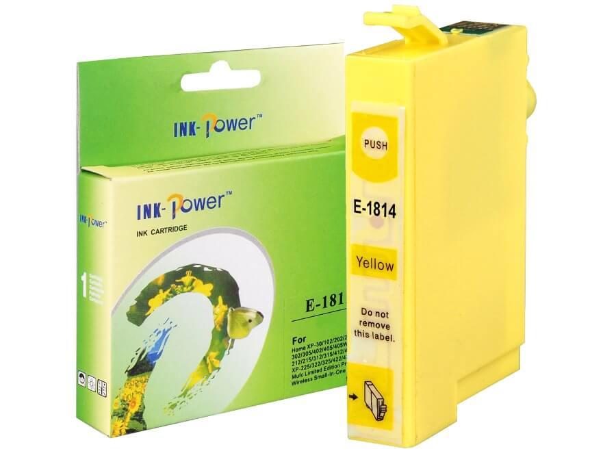 Kompatibilní inkoustová cartridge Epson T1814 pro inkoustové tiskárny Epson