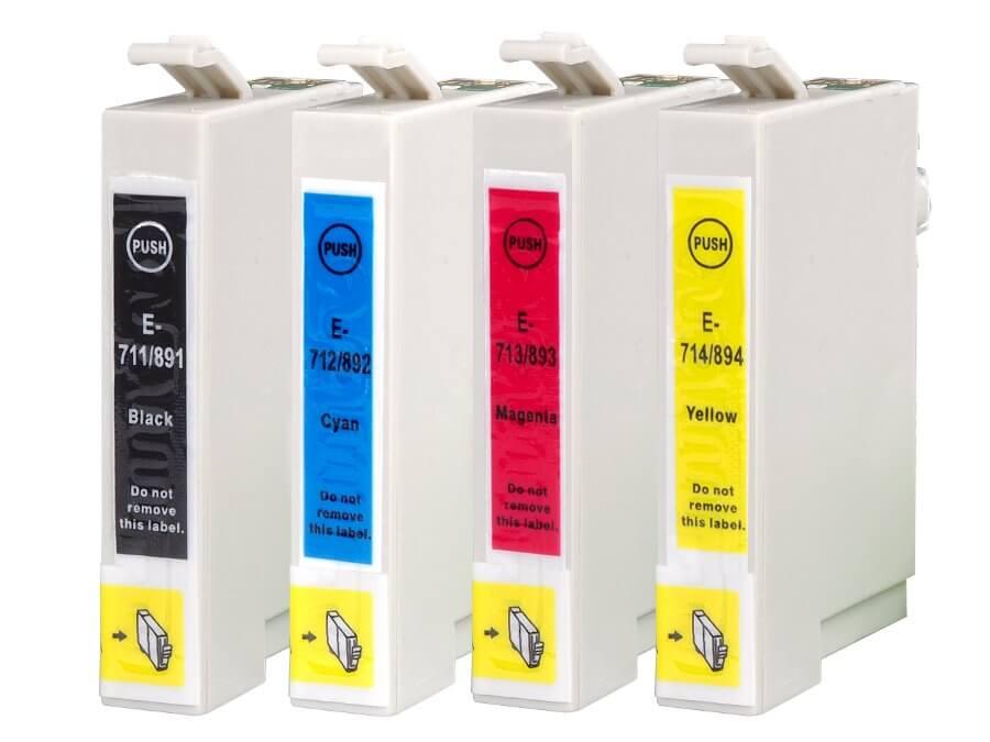 Kompatibilní inkoustová cartridge Epson T0715 multipack pro inkoustové tiskárny Epson
