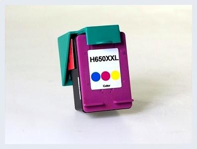 Kompatibilní inkoustová cartridge HP 650XXL C pro inkoustové tiskárny HP