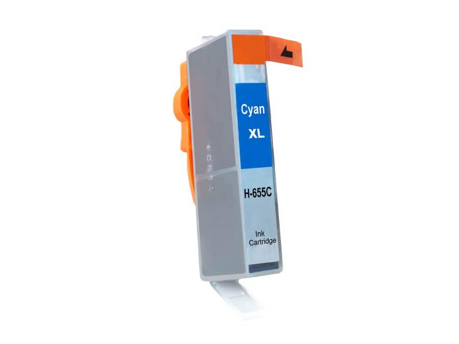 Kompatibilní inkoustová cartridge HP 655XL C pro inkoustové tiskárny HP