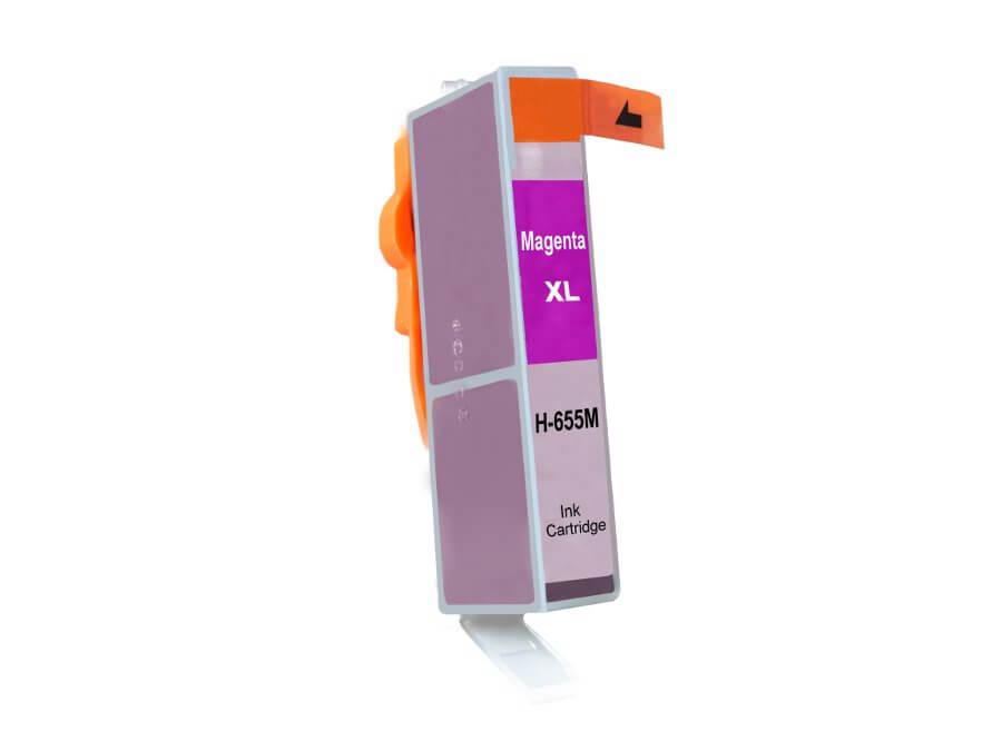 Kompatibilní inkoustová cartridge HP 655XL M pro inkoustové tiskárny HP