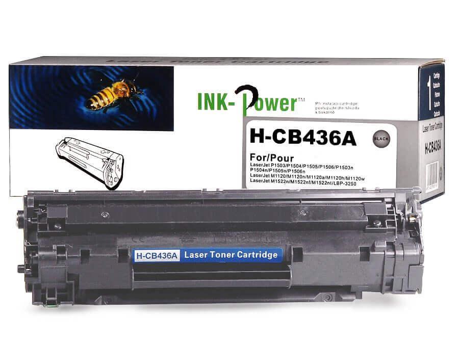 Kompatibilní toner HP CB436A, 36A pro laserové tiskárny HP