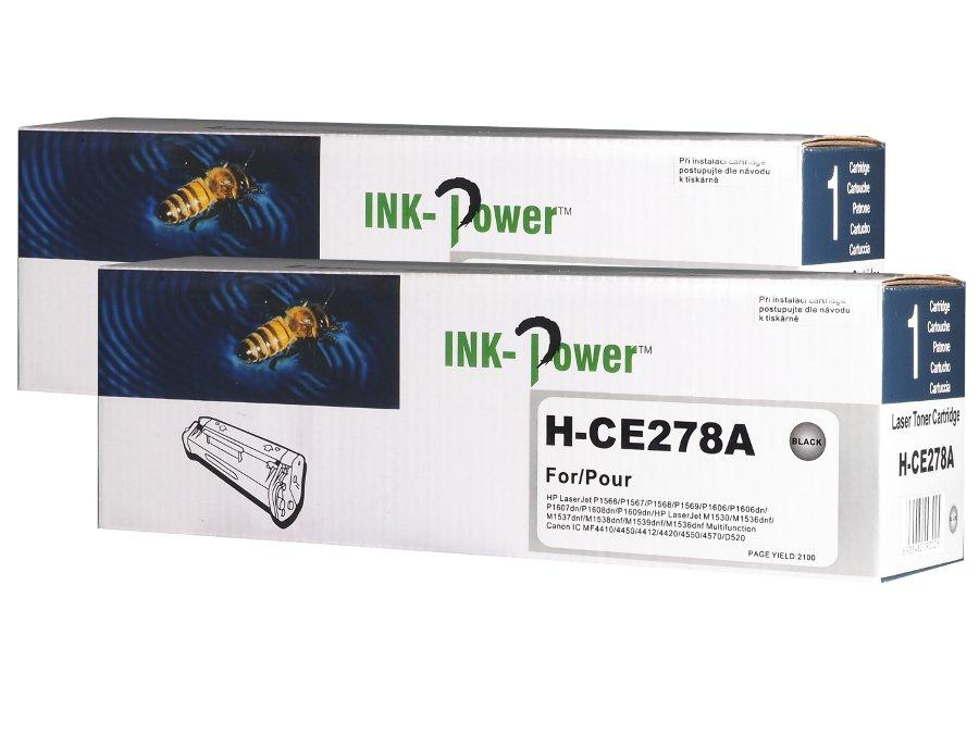 Kompatibilní toner HP CE278A, 78A pro laserové tiskárny HP dvojbalení