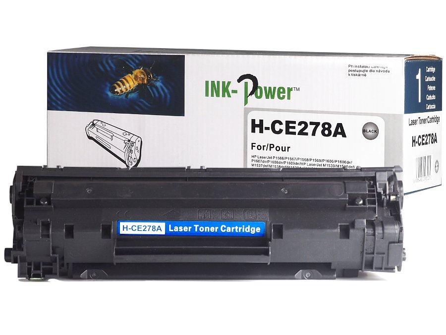 Kompatibilní toner HP CE278A, 78A pro laserové tiskárny HP