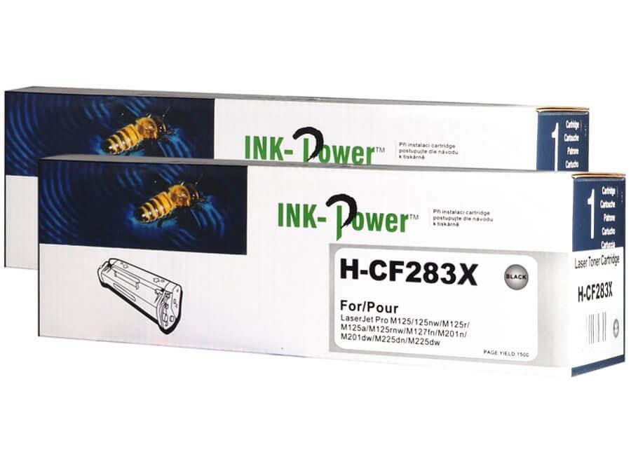 Kompatibilní toner HP CF283X, 83X pro laserové tiskárny HP - dvojbalení